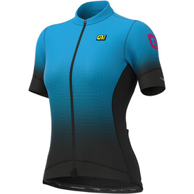 Alé Cycling PRS Dots Jersey korte mouwen Dames, black/light blue